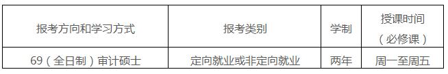 中大管院2018年审计硕士(MAud)招生简章发布