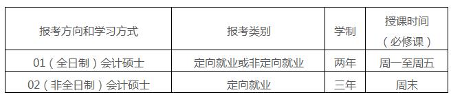 中大管院2018年MPAcc招生简章发布