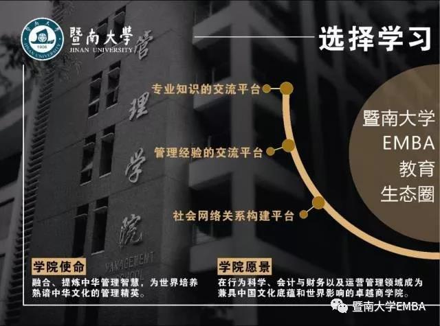 暨南大学2019年高级工商管理硕士招生简章