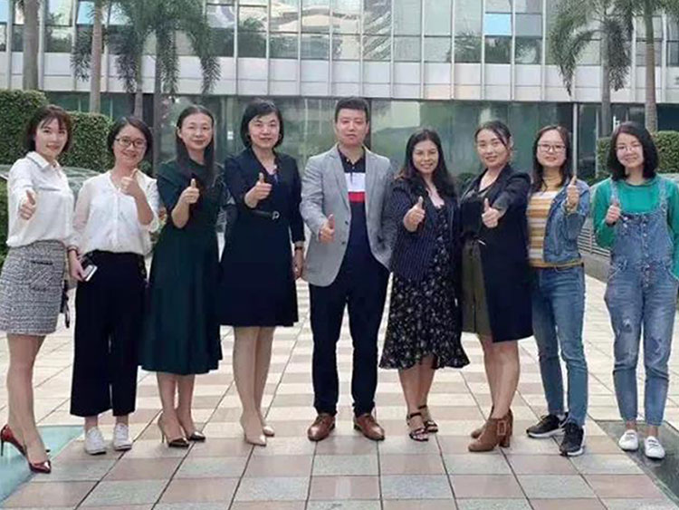 泰祺教育到访华中科技大学深圳培训中心(MBA/EMBA)