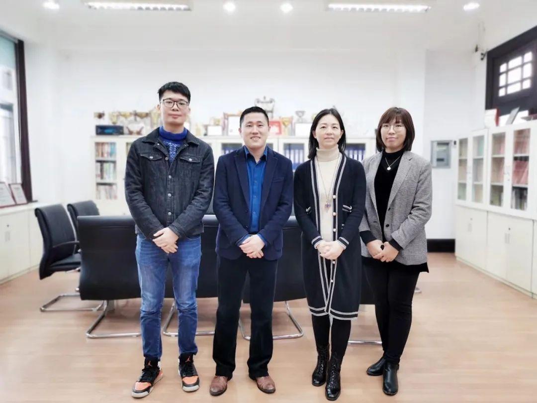 泰祺教育到访华南理工大学EMBA中心