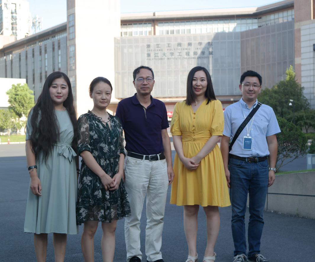 浙江大学工程师学院创新实训平台参访 | 走进名校