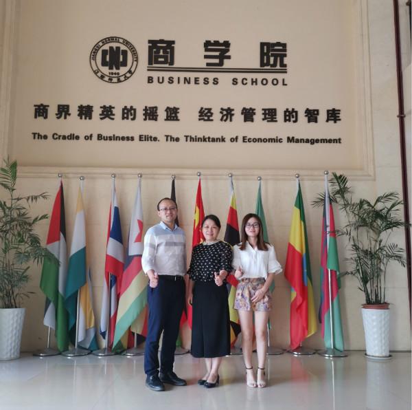 泰祺教育南昌分校参访江西师范大学MBA中心