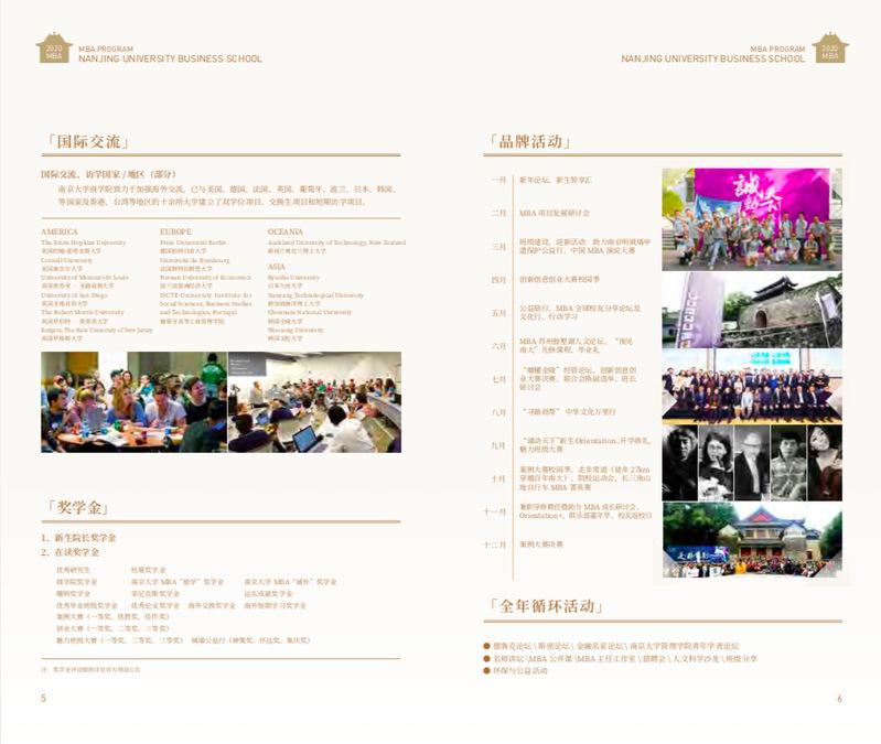 南京大学商学院MBA2020年的招生简章