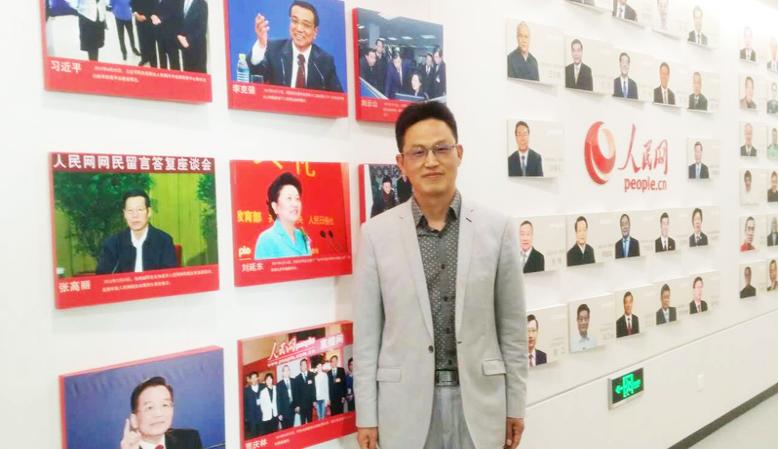 泰祺教育创始人刘庆梅做客人民网演播室