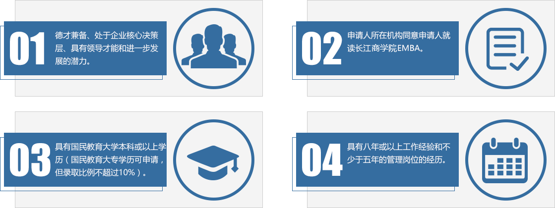 长江商学院EMBA报考条件