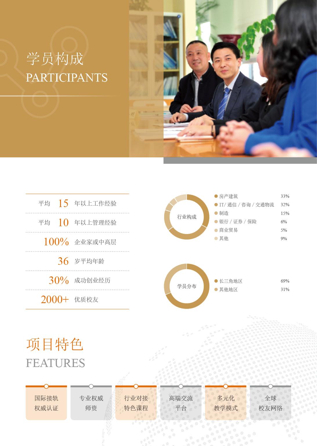 2019级同济大学EMBA项目招生简章