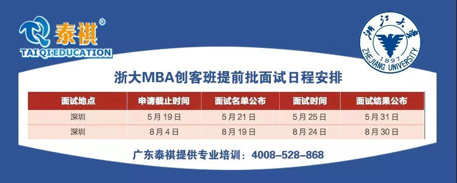 聚焦 | 浙江大学MBA在深圳泰祺课堂都讲了哪些干货