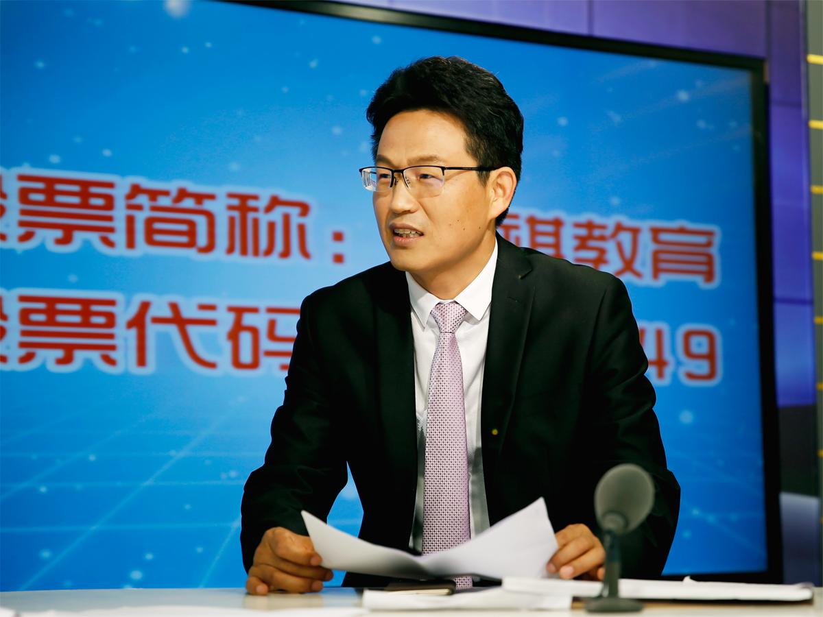 访谈实录 | 泰祺教育创始人刘庆梅董事长做客新华社《中国新三板》栏目
